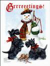 Scottish Terrier Xmas Cards