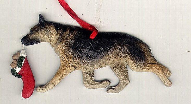 Boxer Dog Christmas Ornaments